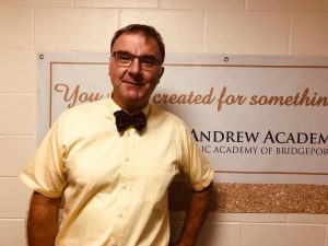 Mr. Holmes, Principal of St. Andrew