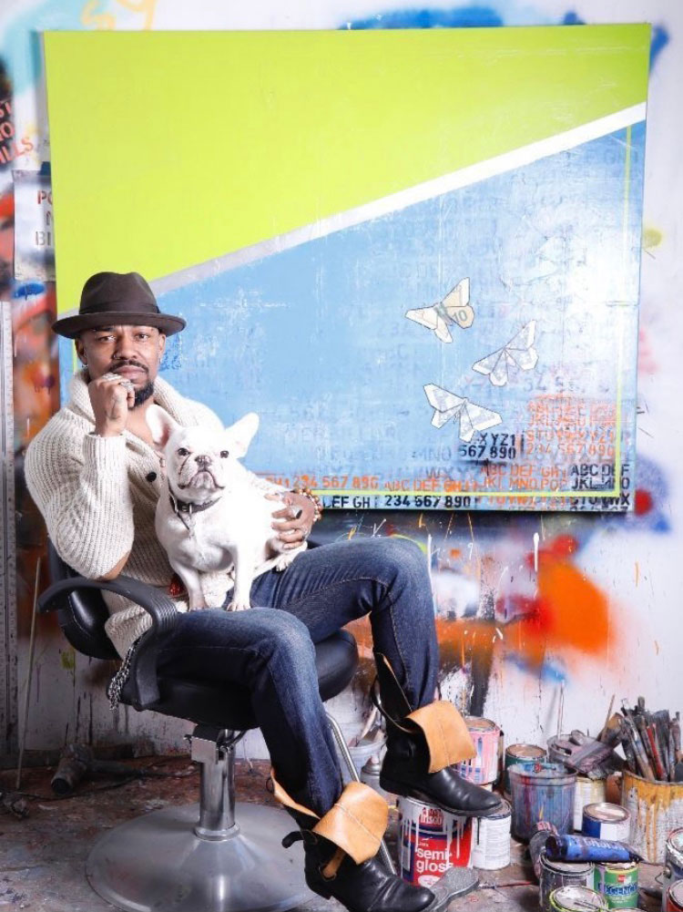 Famous Artist and Alumnus Pays it Forward